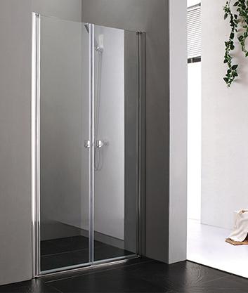 Aquatek Glass B2 100 sprchové dveře do niky dvoukřídlé 97-101cm
