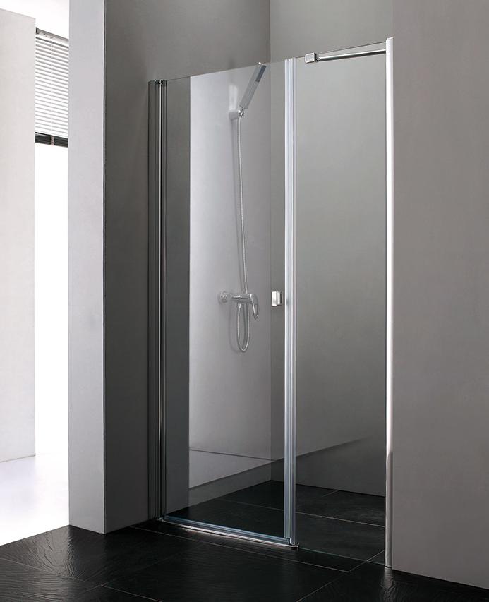 Aquatek Glass B7 100 CHROM Sprchové dveře do niky 97 - 101 cm