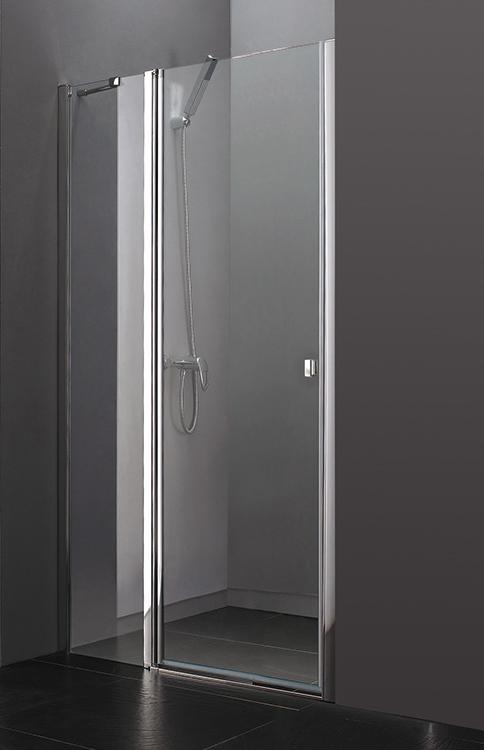 Aquatek Glass B5 110 CHROM Sprchové dveře do niky 107 - 111 cm