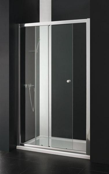 Aquatek Master B2 sprchové dveře do niky zasouvací 116-120 cm
