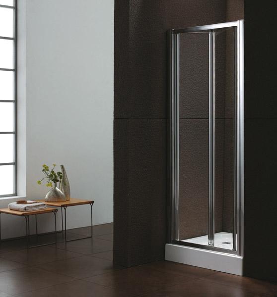 Aquatek Master B6 90 Sprchové dveře do niky-zalamovací dvoudílné 86-90 cm