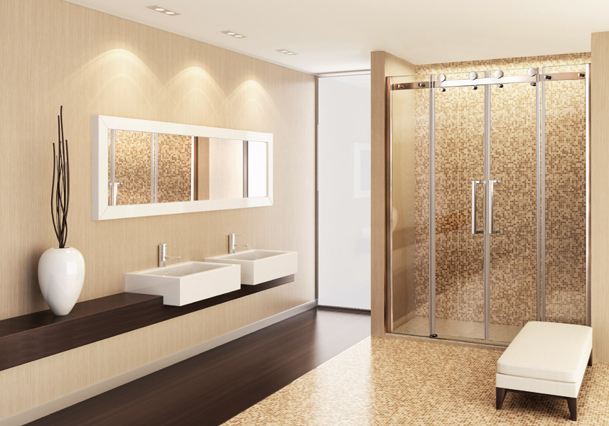 Tekno B4 - Luxusné sprchové dvere zasúvacie