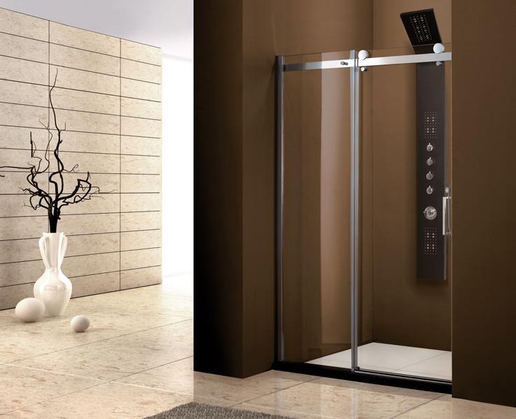 Aquatek Tekno B2 - Luxusní sprchové dveře zasouvací 141-145 cm, sklo 8mm