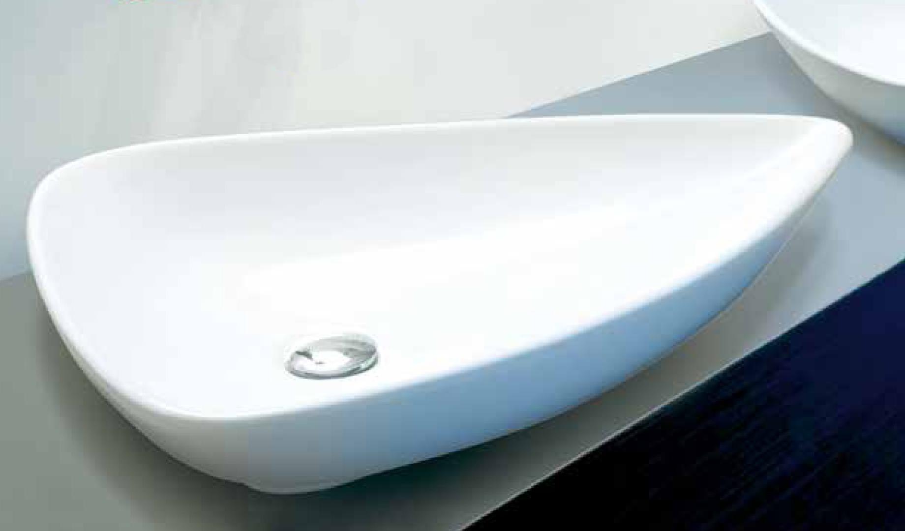 Aquatek BALEARI keramické umyvadlo 65,5 x 46,5 x 11,5 cm