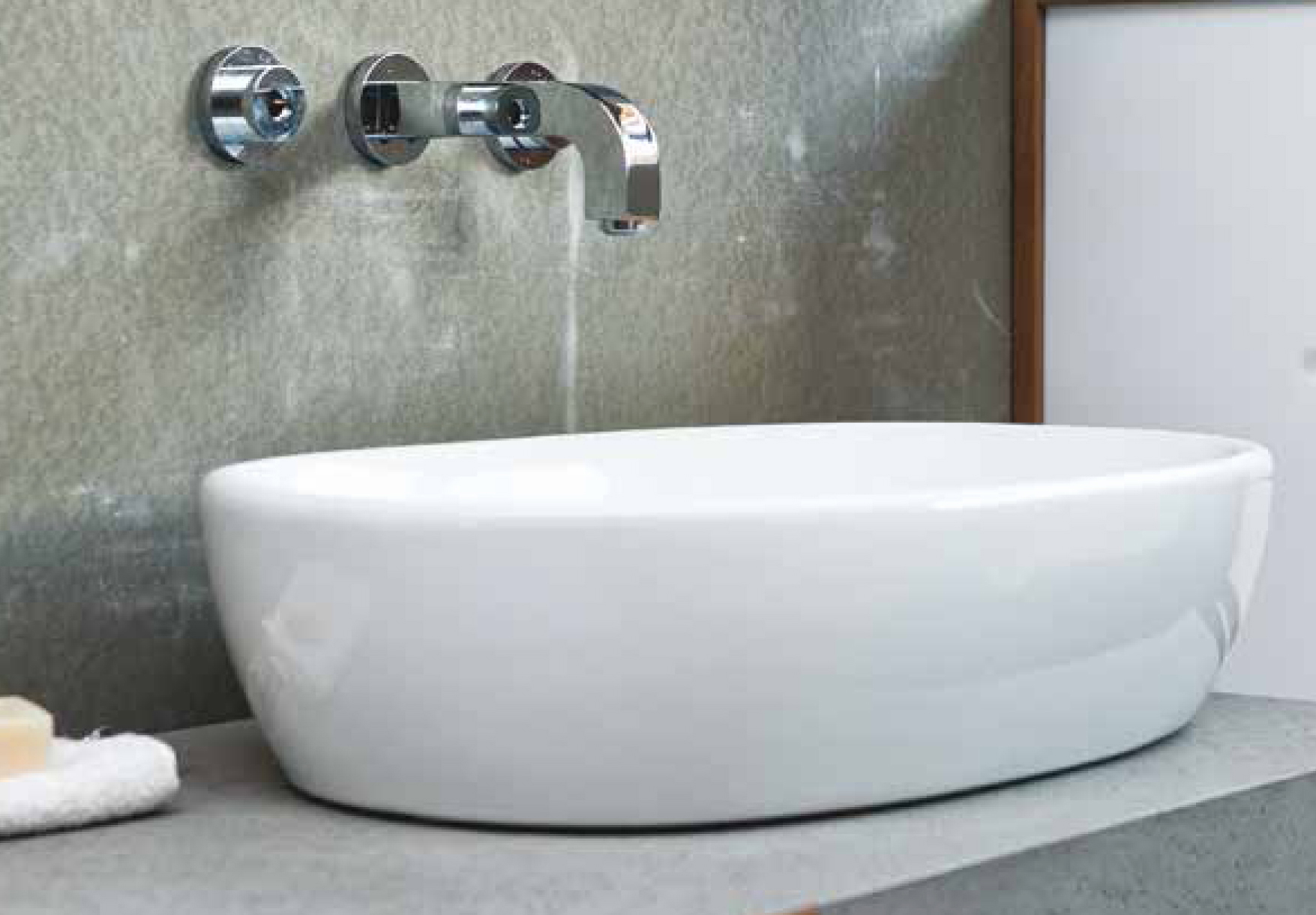 Aquatek GO keramické umyvadlo 58,5 x 40,5 x 13,5 cm