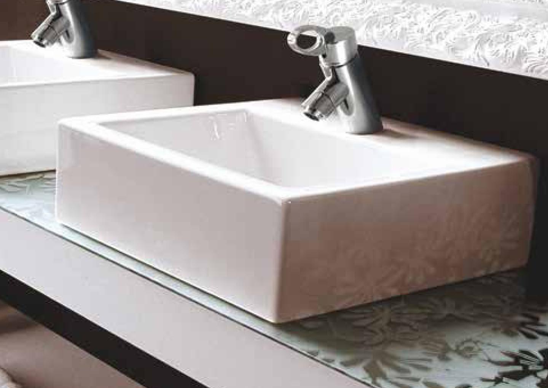 Aquatek U2 keramické umyvadlo 32,5x28x14,5 cm