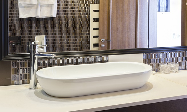 Aquatek O8 keramické umyvadlo 80,5 x 43,5 x 12 cm