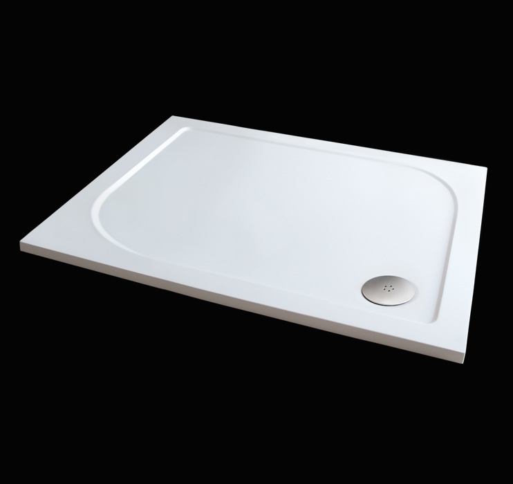 Aquatek Hard 100x80 sprchová vanička z litého mramoru