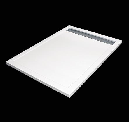 Aquatek LEVEL 120x90 sprchová vanička z litého mramoru obdélníková