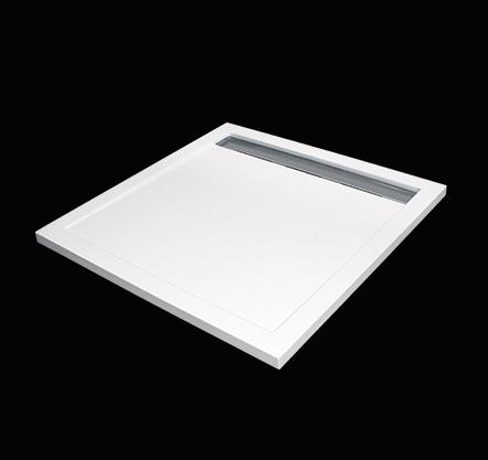 Aquatek LEVEL 90x90 sprchová vanička z litého mramoru čtvercová