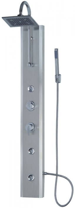 Nerezový sprchový masážní panel LINEA