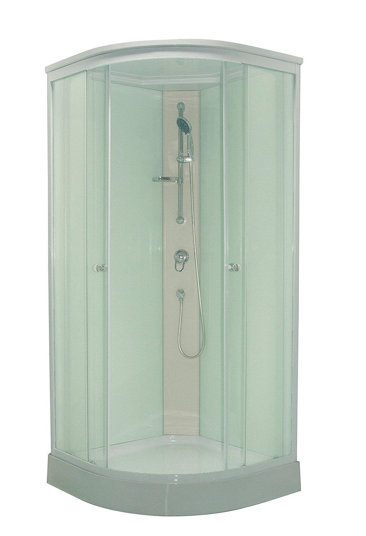 Sprchový box Patrice kompletní box s nízkou vaničkou 89x89x208 cm