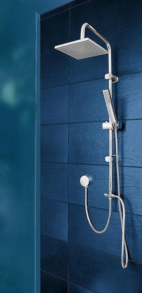 Sprchový set s tropickým deštěm bez baterie Ocean