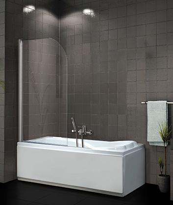 Aquatek Vanová zástěna FAMILY L1 80x140cm - jednodílná