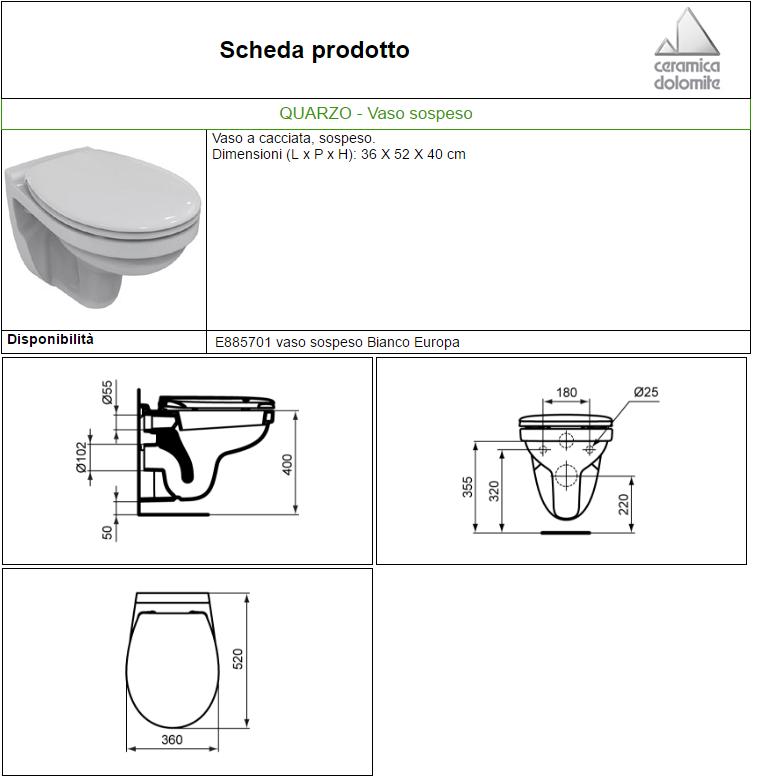 Geberit sada pro z v sn wc nr klozet a for Ideal standard diagonal