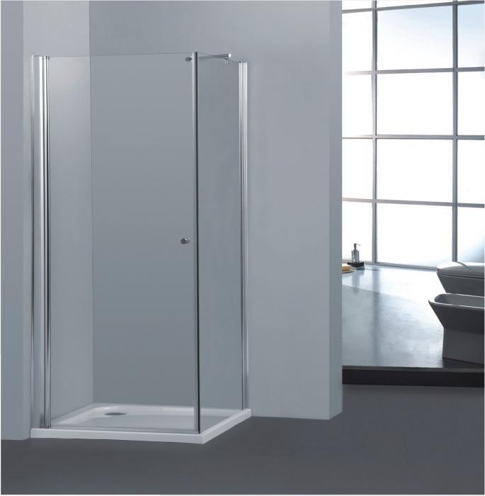 Pure A2 90 cm Sprchová zástěna 90x90x190cm s dvěma otočnými dveřmi