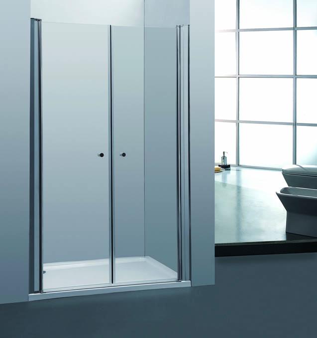 Sprchové dveře PURE D2 110 dvoukřídlé 106-111 x 190 cm
