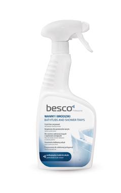 profesionální čistící prostředek pro akrylátové vany a vaničky