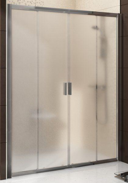 Ravak BLDP4-170 sklo Grape Sprchové dveře posuvné čtyřdílné 170 cm rám lesklý Alubright