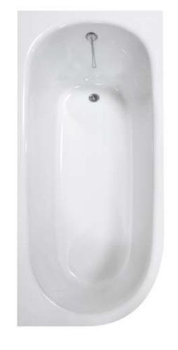 STONE LONG volně stojící vana z litého mramoru 168x75 cm