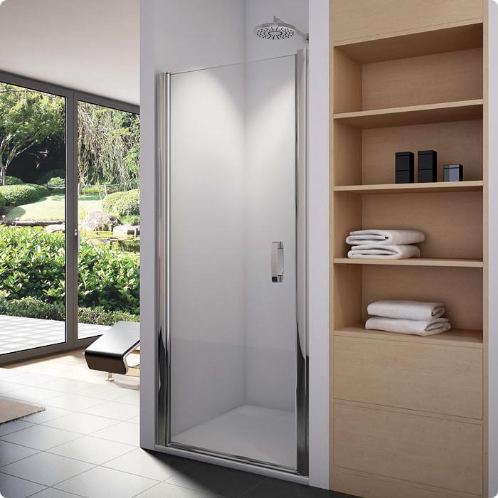 SanSwiss SL1 0900 50 07 Sprchové dveře jednokřídlé 90 cm