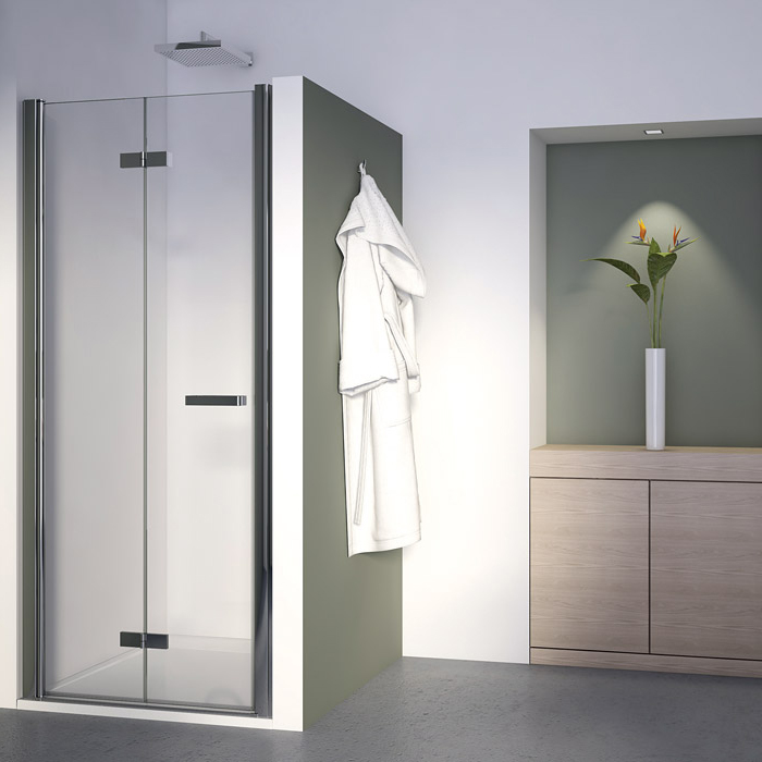 SanSwiss SLF1G 1200 50 07 Sprchové dveře dvoudílné skládací 120 cm levé