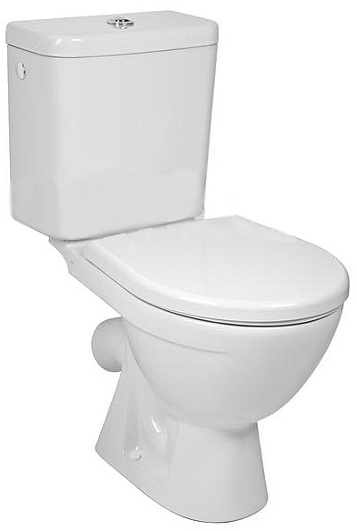 Jika H8263840002413 WC kombi zadní šikmý - hluboké splachování