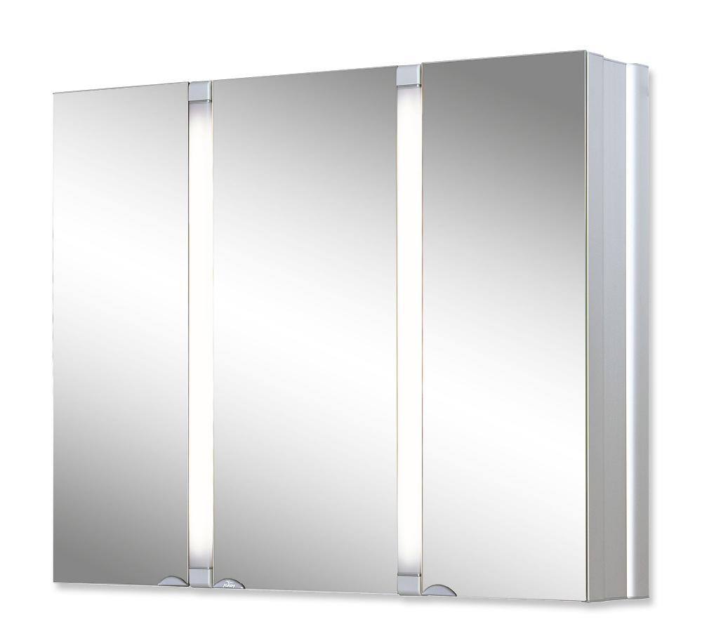 Jokey Plastik SUNALU Zrcadlová skříňka - aluminium