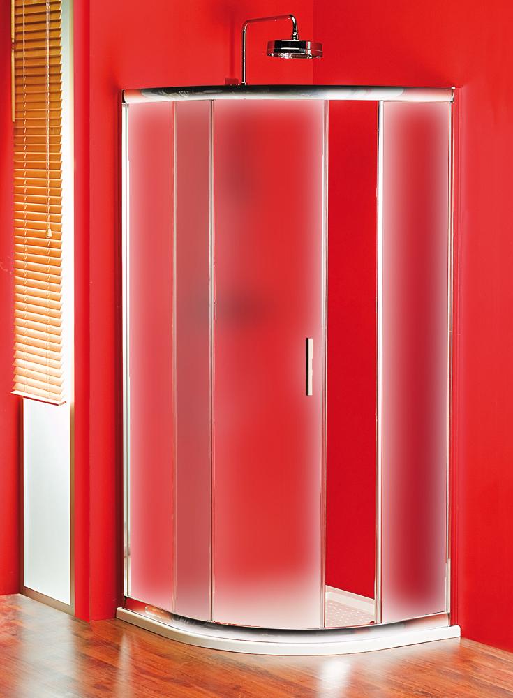 Gelco SG1205 Sprchový kout čtvrtkruhový - sklo čiré