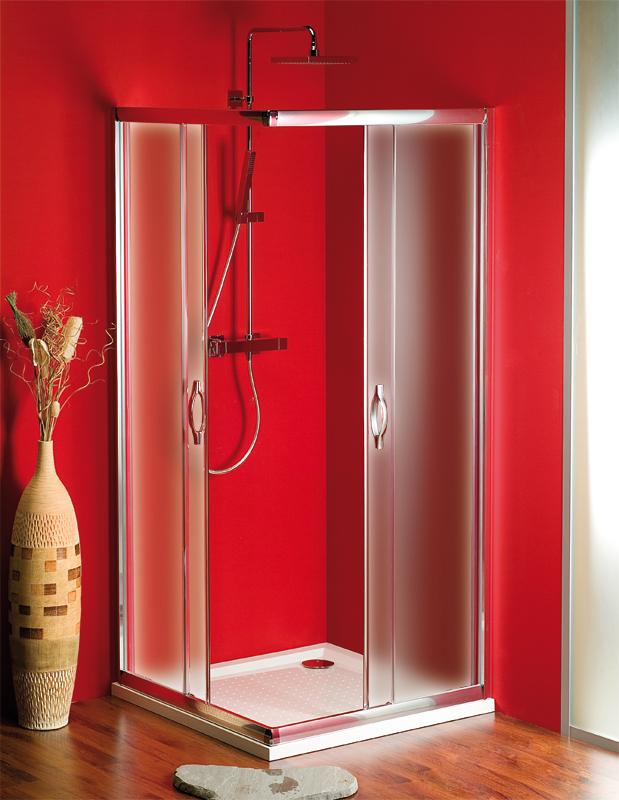 Gelco SG3618 Sprchový kout čtvercový - sklo Brick