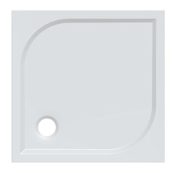 Gelco KARRE 80 HQ008 Sprchová vanička čtvercová
