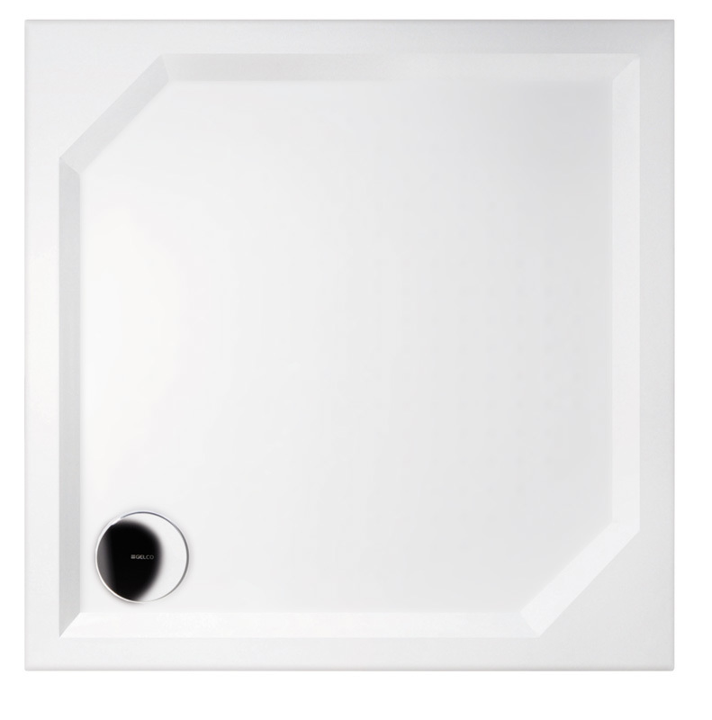Gelco ANETA 100 HA001 Sprchová vanička čtvercová - hladká
