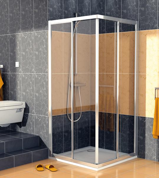 SanSwiss ECOAC 0900 50 07 Sprchový kout čtvercový 90×90 cm ECOAC09005007