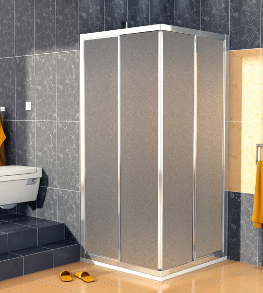 SanSwiss ECOAC 0700 50 22 Sprchový kout čtvercový 70×70 cm