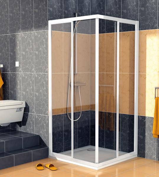 SanSwiss ECOAC 0700 04 07 Sprchový kout čtvercový 70×70 cm