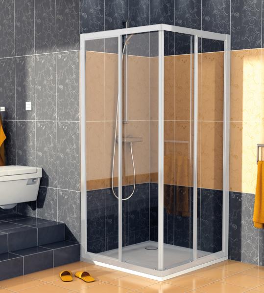 SanSwiss ECOAC 0700 01 07 Sprchový kout čtvercový 70×70 cm