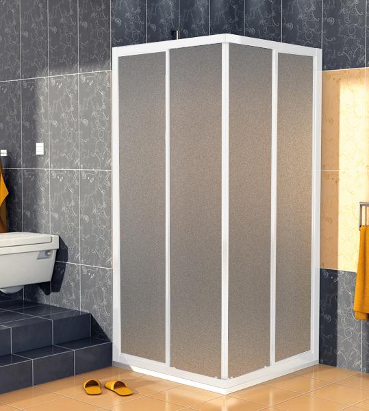 SanSwiss ECOAC 0700 01 22 Sprchový kout čtvercový 70×70 cm