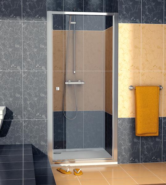 SanSwiss ECOP 0900 50 07 Jednokřídlé dveře 90 cm ECOP09005007