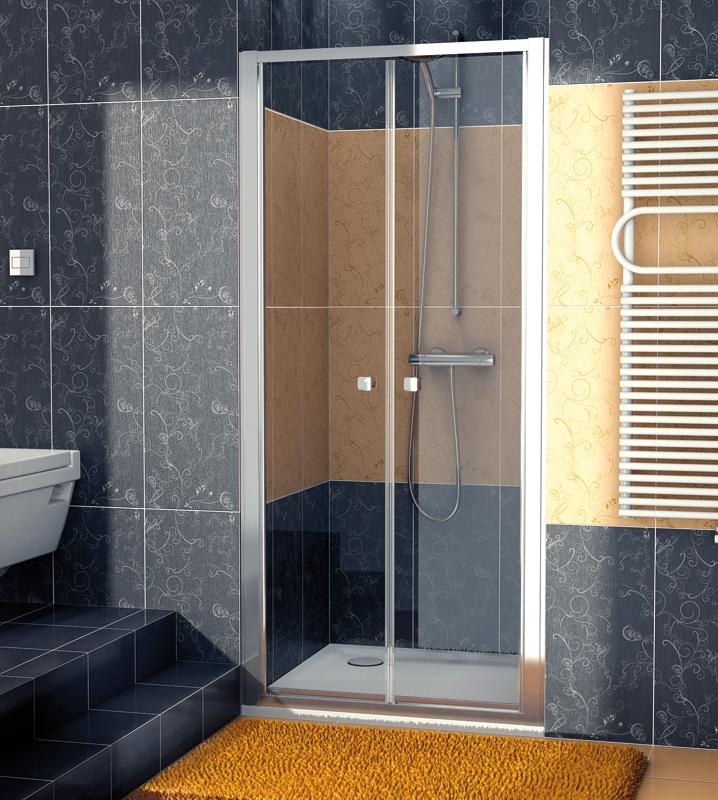 SanSwiss ECP2 0900 50 07 Dvoukřídlé dveře 90 cm ECP209005007