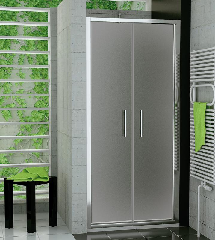SanSwiss TOPP2 0900 50 22 Dvoukřídlé dveře 90 cm TOPP209005022