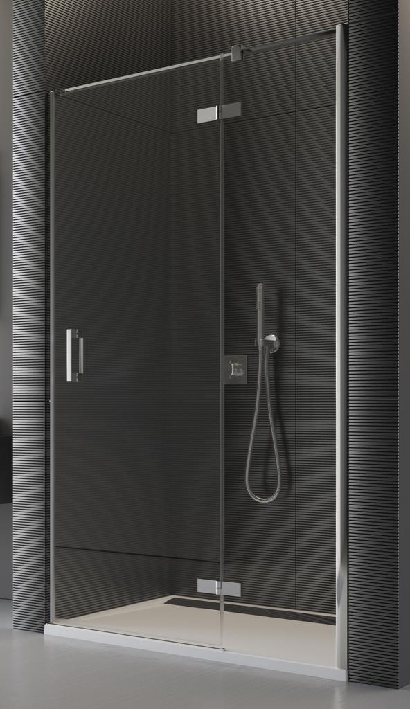 SanSwiss PU13PD 100 10 07 Sprchové dveře jednodílné 100 cm pravé PU13PD1001007