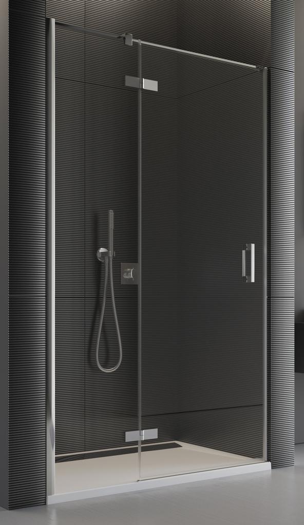 SanSwiss PU13PG 100 10 07 Sprchové dveře jednodílné 100 cm levé PU13PG1001007
