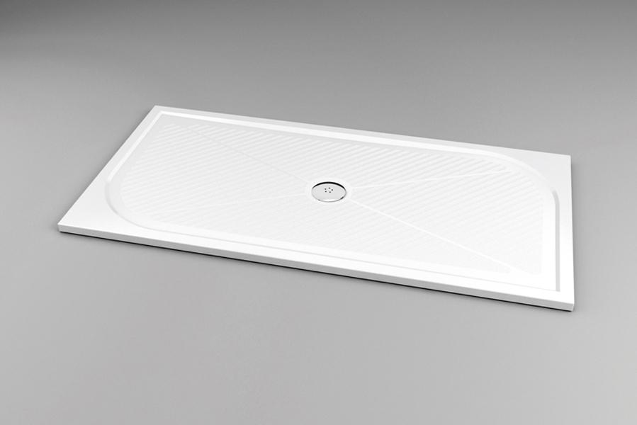 SanSwiss WMA 80 160 04 Sprchová vanička obdélníková 80×160 cm - bílá