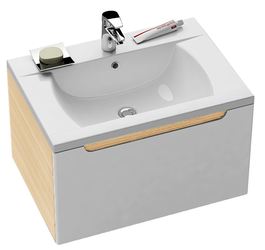 Ravak SD 600 CLASSIC Skříňka pod umyvadlo š. 60cm, č.303 X000000303