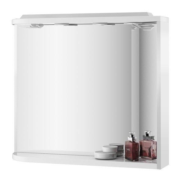 Ravak M 780 ROSA PRAVÉ Zrcadlo s osvětlením a poličkou š. 78cm, č.332 X000000332