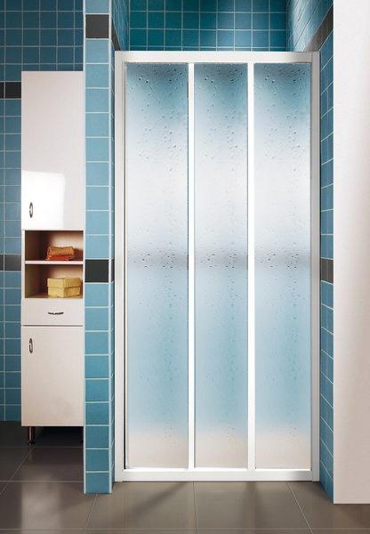 Ravak ASDP3-100 PEARL Sprchové dveře třídílné 100 cm bílé 00VA010211