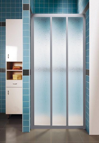 Ravak ASDP3-100 PEARL SATIN Sprchové dveře třídílné 100 cm Satin