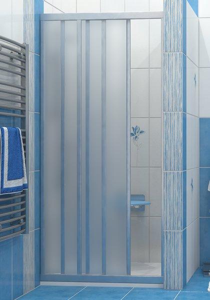 Ravak ASDP3-100 GRAPE SATIN Sprchové dveře třídílné 100 cm Satin