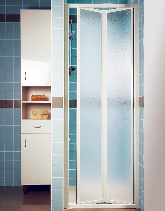 Ravak SDZ2-70 PEARL Sprchové dveře zalamovací 70 cm bílé