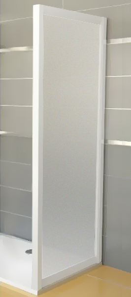 Ravak APSS-90 GRAPE Pevná stěna sprchová 90 cm bílá